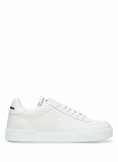 Dolce&Gabbana Dolce&Gabbana  Erkek Deri Sneaker 101556996 Beyaz
